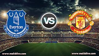 مشاهدة مباراة مانشستر يونايتد وايفرتون Everton vs Manchester united بث مباشر بتاريخ 01-01-2018 الدوري الانجليزي