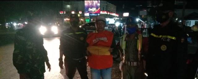 Ops Yustisi Rutin Polsek Bagan Sinembah Ajak Warga Patuhi Prokes