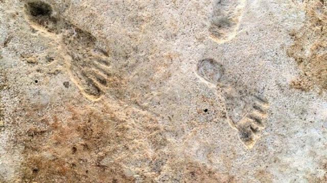 Ανθρώπινες πατημασιές 23.000 ετών