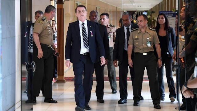 """Bolsonaro promete luchar contra """"comunismo"""" en Venezuela y Cuba"""
