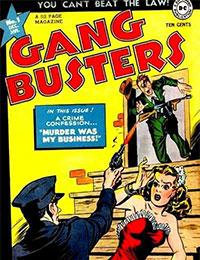 Read Gang Busters comic online