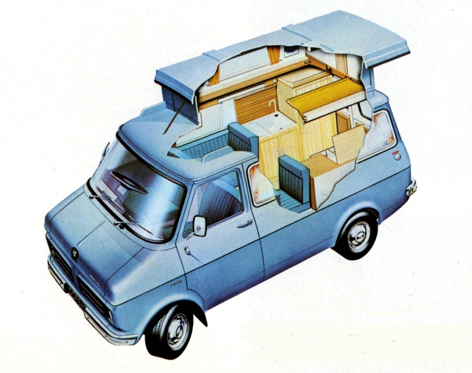 vanlife classic campervan interiors
