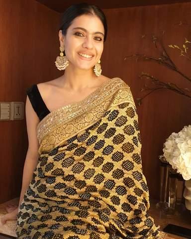 Bollywood Actresses Photos in Printed Bandhani Saree Actress Trend