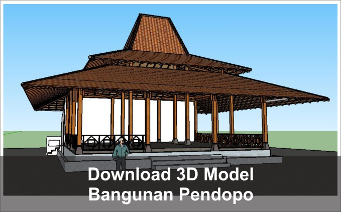 download 3d model pendopo