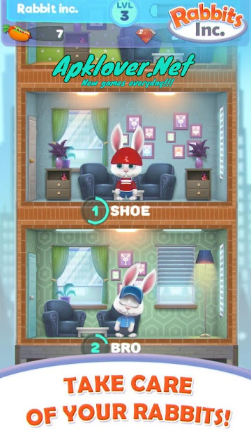 Rabbits Inc MOD APK unlimited money