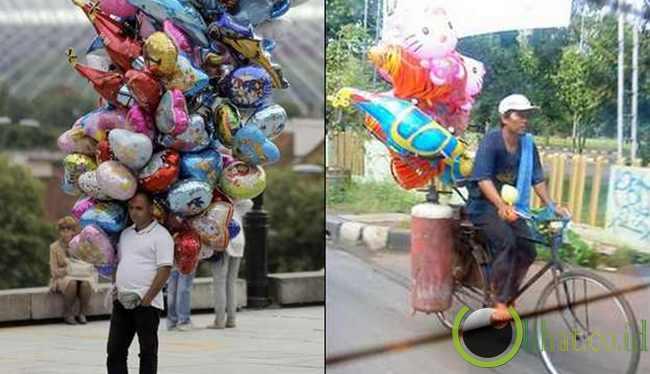 Tukang Balon Gas
