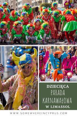 Dziecięca parada karnawałowa w Limassol