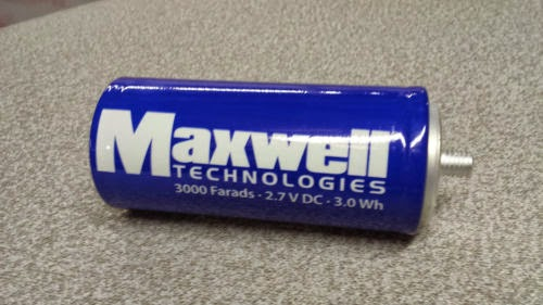 EVectra blog: Box of 15, 3000F 2 7V Maxwell Ultracapacitor