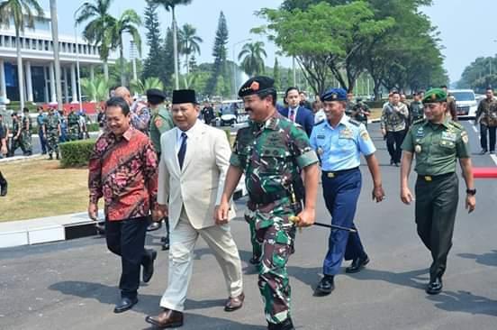 Prabowo Jadi Menhan Dinilai Separuh Permasalahan Sudah Selesai