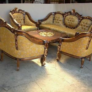 Kursi Tamu Ganesa Royal Jati