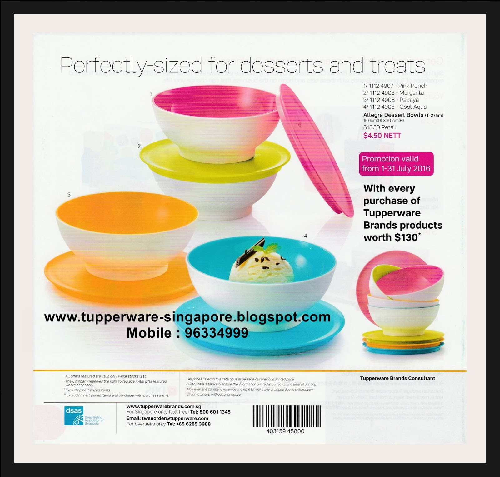 buy tupperware in singapore catalogue from 1st july to 12 august 2016. Black Bedroom Furniture Sets. Home Design Ideas