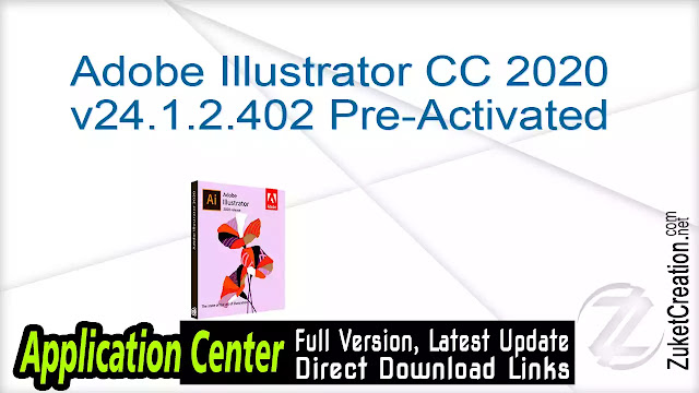 Adobe Illustrator CC 2020 v24.1.2.402 Pre-Activated