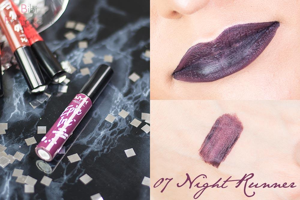 NYX Cosmetics Epic Ink Lip Dye EILD 07 Night Runner