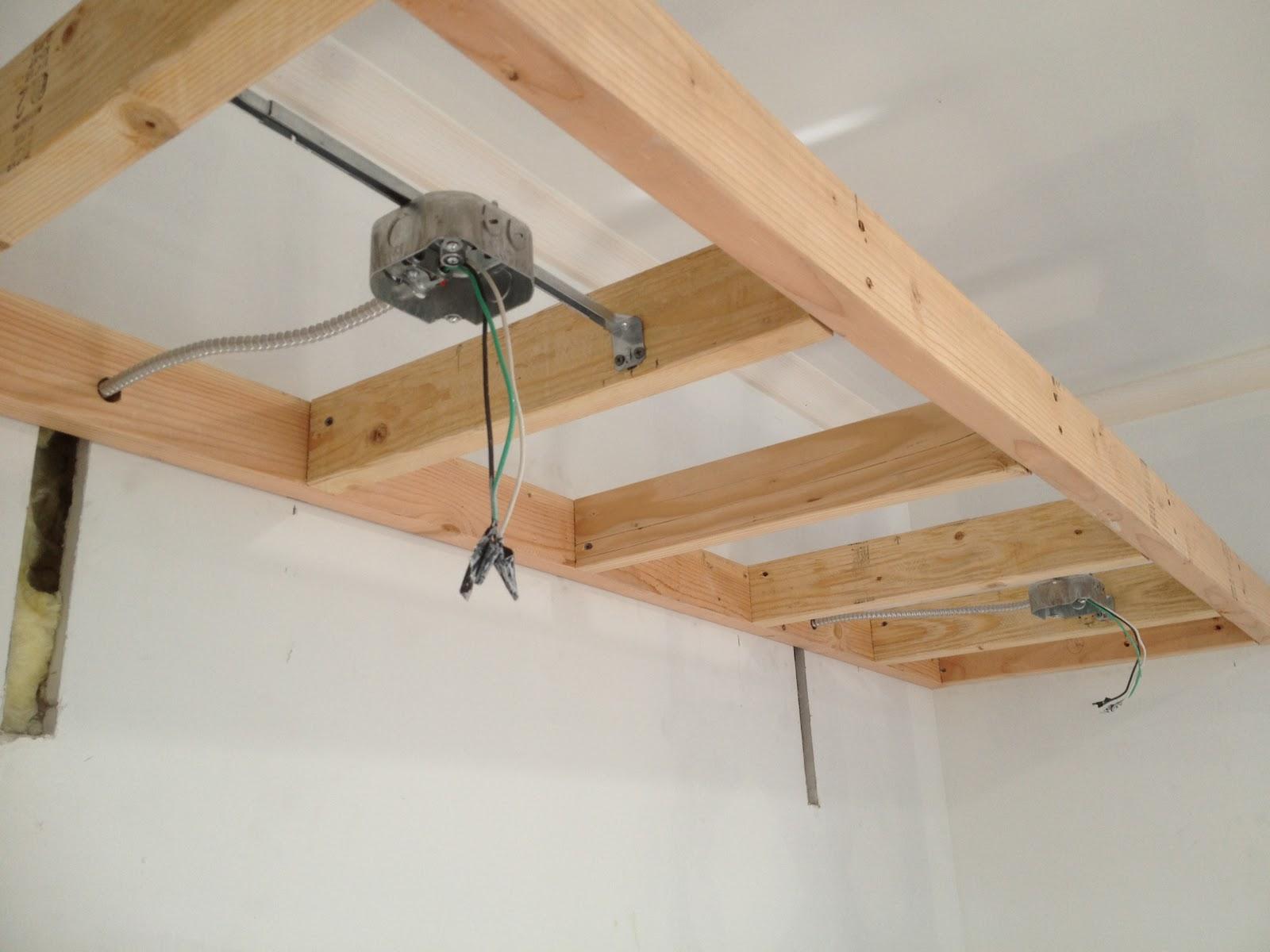 Metal Ceiling Fan Electrical Box Wiring Junction On