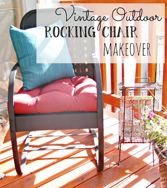 Vintage Outdoor Rocking Chair