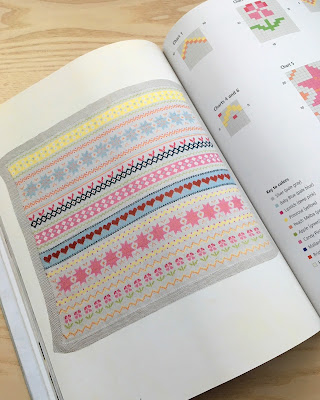 Fair Isle Baby Blanket via SEWN Sewing Blog