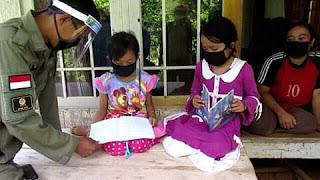 Gerakan Literasi Pintar Saat New Normar (Geulis Pisan) Ada Di Cimanggu