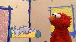 Sesame Street Elmo's World Sleep Elmo's Question