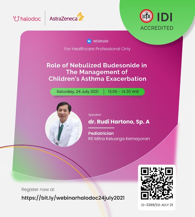 (Gratis SKP IDI) *Role of Nebulized Budesonide in The Management of  Children's Asthma Exacerbation*