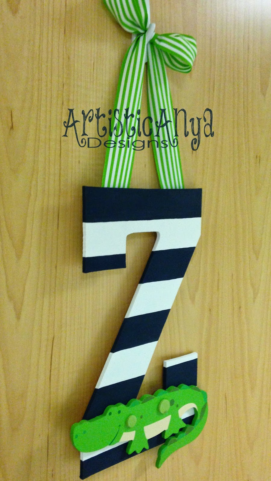 Artistic Anya Designs Cute Amp Easy Diy Alligator Initial