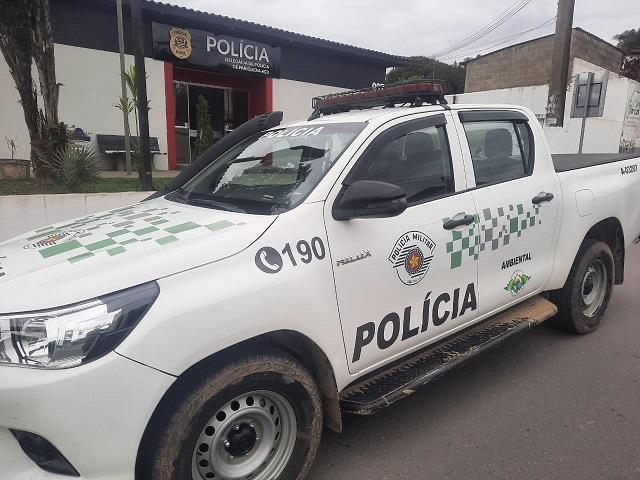 Policia Militar Ambiental prende um procurado da Justiça em Pariquera-Açu