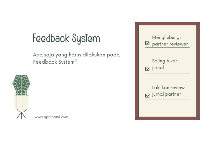 langkah-langkah memberi feedback