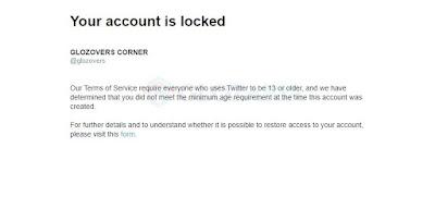 Baru Daftar Langsung Terkunci ! Cara Mengembalikan Akun Twitter yang Ditangguhkan (Suspend)