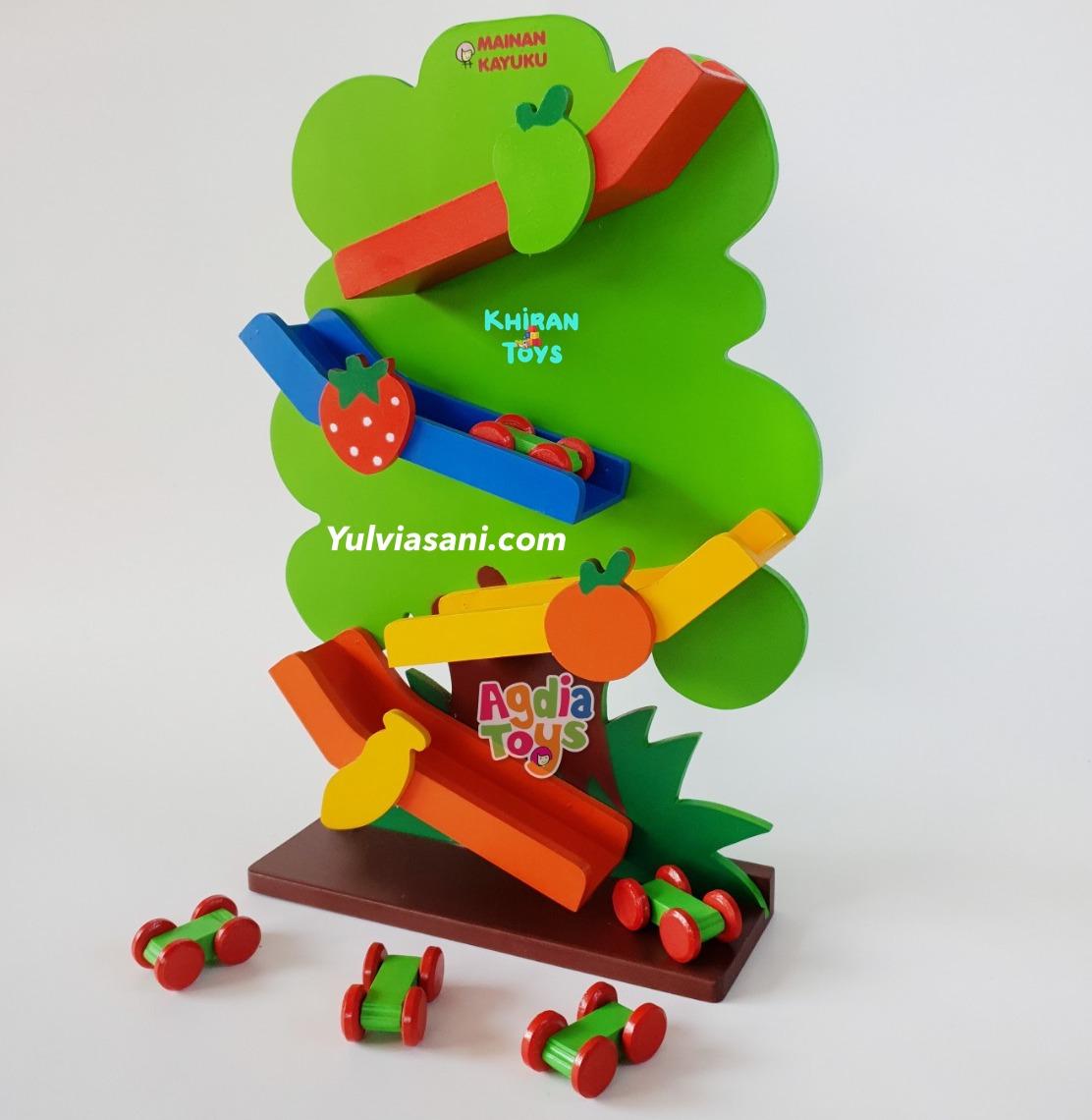Mainan Kayu Sliding Pohon