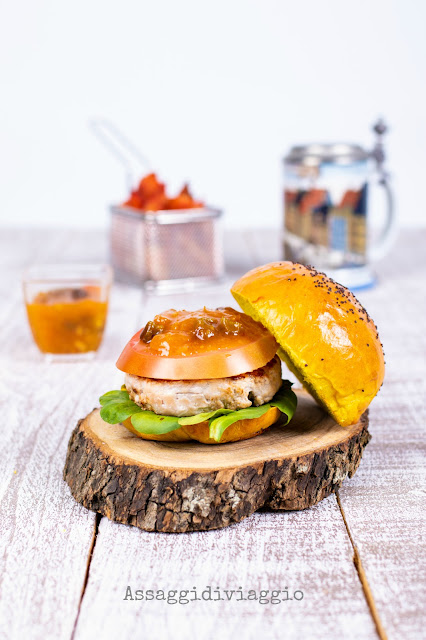 Indian Style Burger