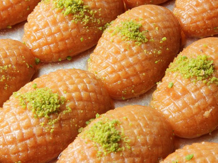 LEBANESE RECIPES: Usbu Zainab (Zainab fingers) Recipe