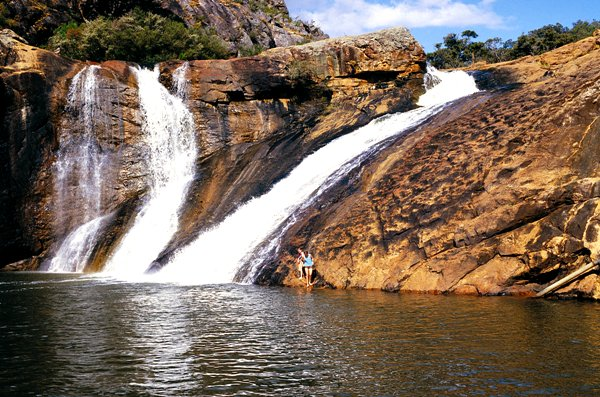 Serpentine Falls in Serpentine National Park