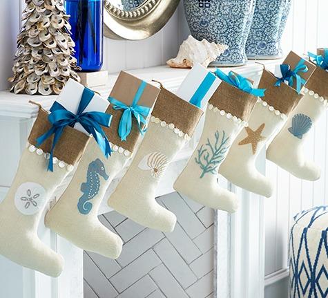 Coastal Stockings