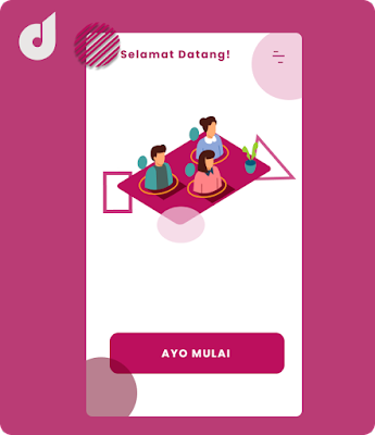 Membuat UI design part 3# Landing page dengan kreasi sederhana