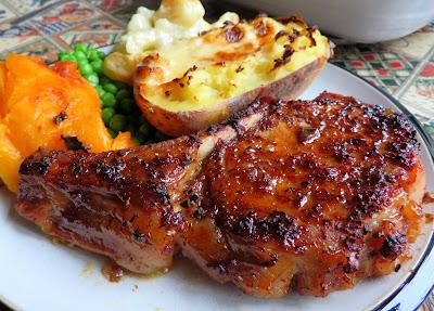 Mapled Pork Chops
