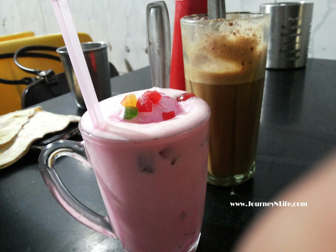 Cold Coffee at Durga cafe, Kothrud