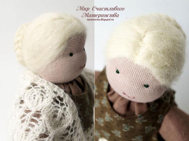 голова вальдорфской куклы