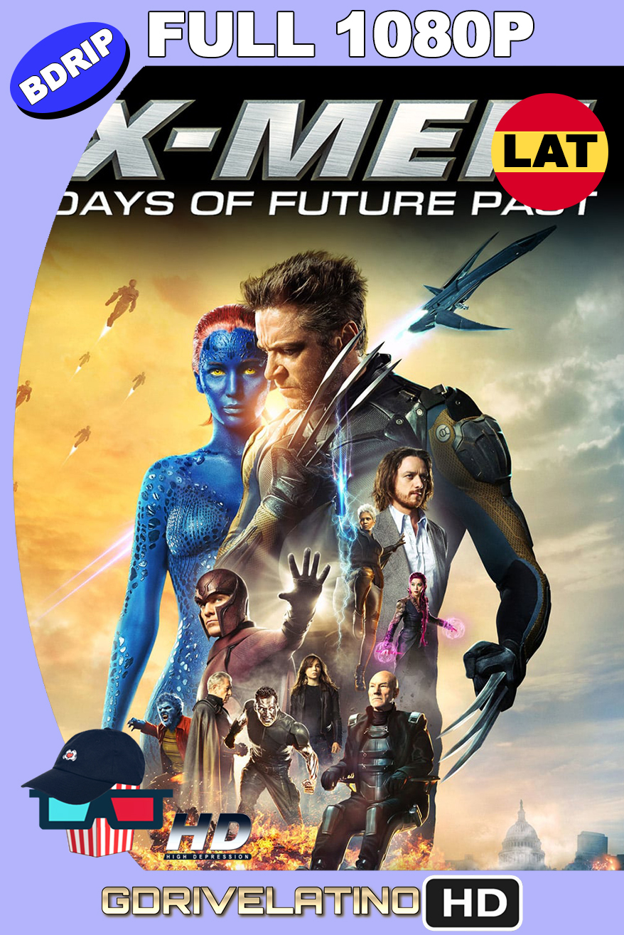 X-Men : Días del Futuro Pasado (2014) THEATRICAL CUT BDRip 1080p Latino-Ingles MKV