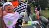 Ibu kendong bayi baru lahir terhempas ke jalan raya, kain tersangkut di rantai motosikal