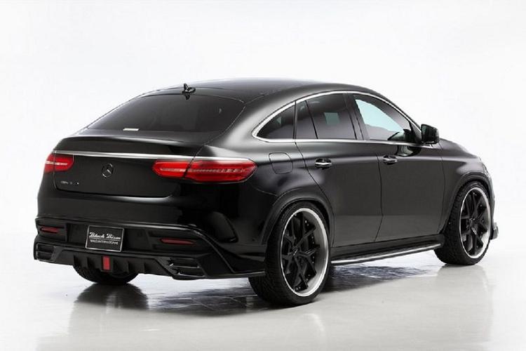 Cận cảnh Mercedes-Benz GLE Coupe dữ dằn hơn của Wald