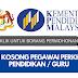 Jawatan Kosong Pegawai Perkhidmatan Pendidikan Kementerian Pendidikan Malaysia (KPM)
