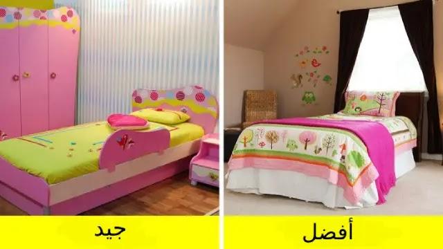 ملء الغرفة بالألوان أو بموضوع معين