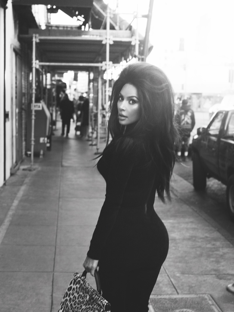Kim Kardashian appears in CR Fashion Book