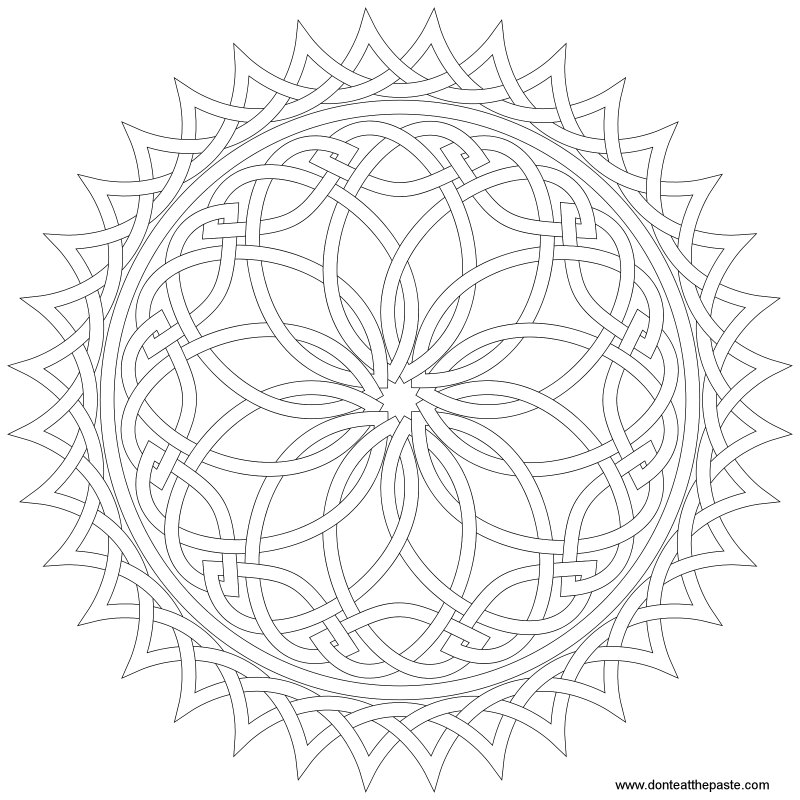 1000+ images about Mandalas and coloring stuff on Pinterest