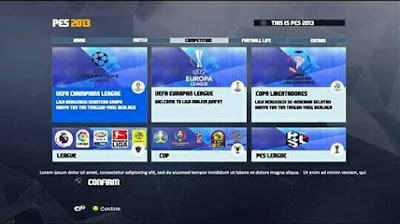 PES 2013 PES 2018 Graphic Theme by R-Patch
