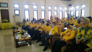 Musda Golkar Kota Jambi, Cek Hendra Minta Kandidat Bertarung Secara Sportif