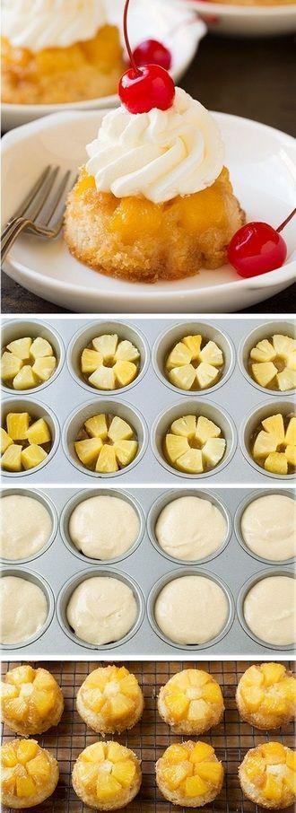 Pineapple Upside Down Minis