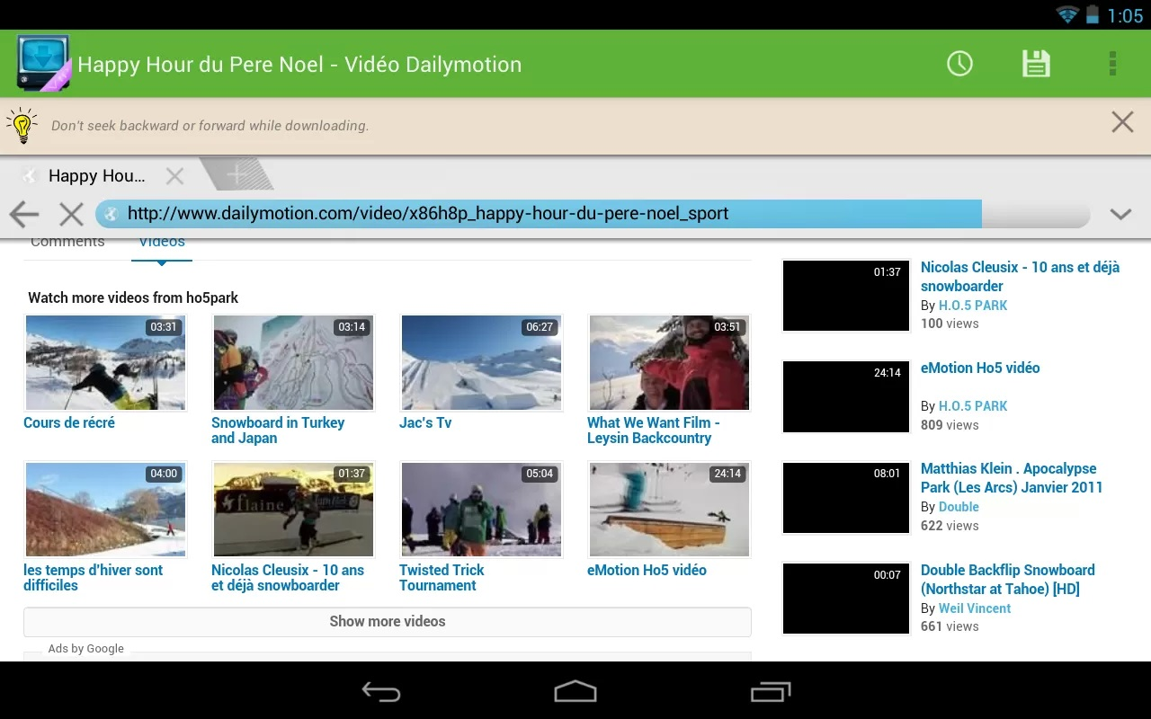 AVD Download Video Downloader Free for Android | Info Linkx