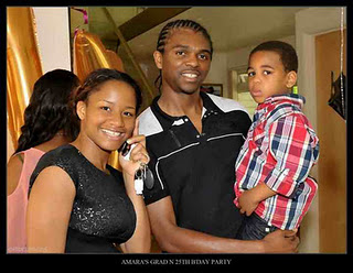 amara2lindaikejiblog Photos from Kanu Nwankwos wifes 25th birthday and graduation