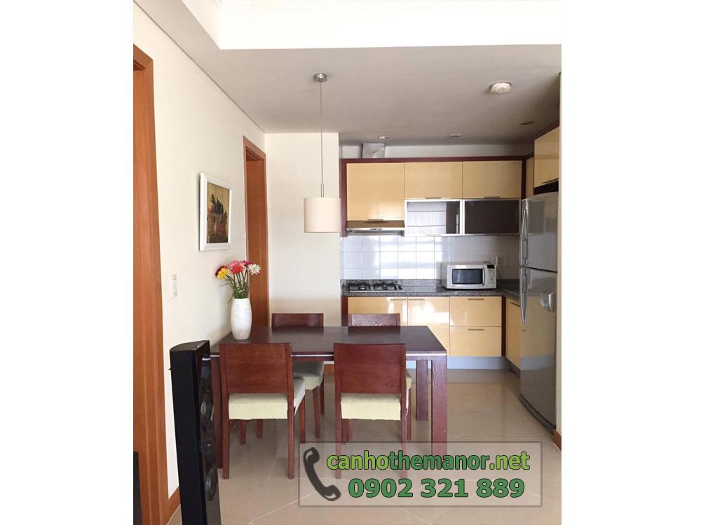 The Manor 1 Ho Chi Minh cho thuê căn hộ 2 phòng ngủ - hình 9