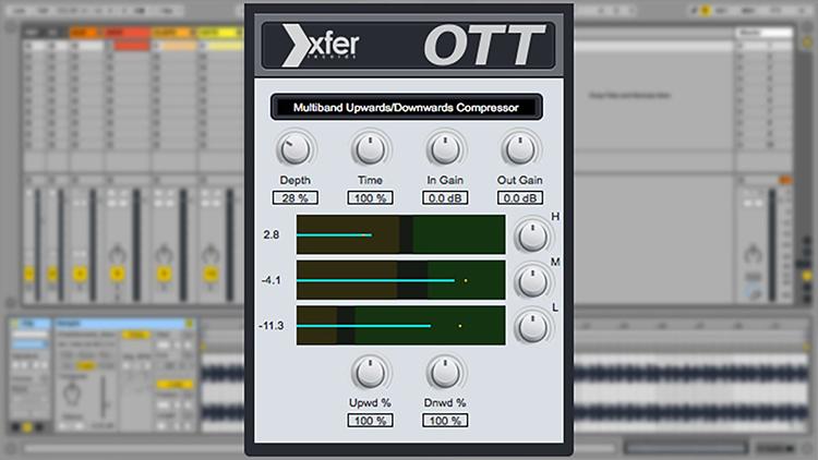 OTT - Xfer Records - Compressor Multibanda Grátis para FL Studio